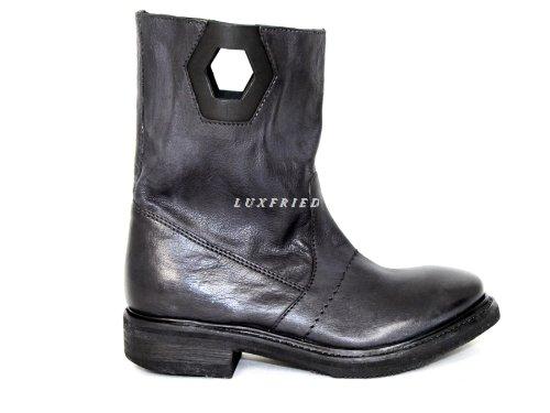 Bikkembergs  106328, Boots biker femme Noir - Noir