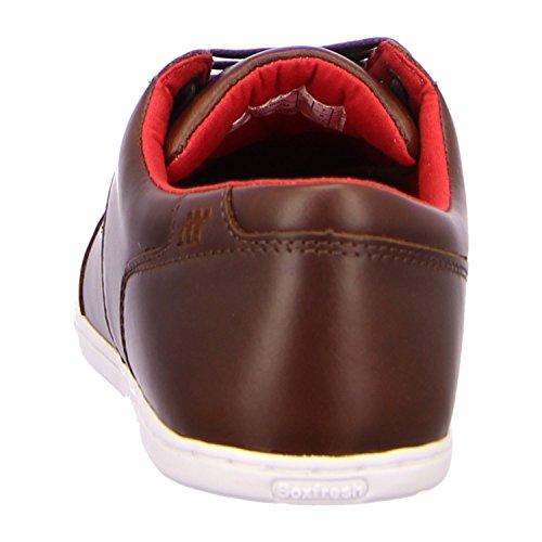 Boxfresh SPENCER BSC LEA Sneaker Herren Braun