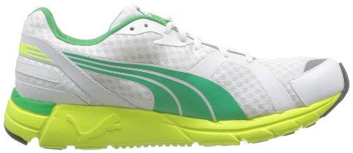 Puma Faas 600, Baskets mode homme Blanc (White/Yellow/Island Green)