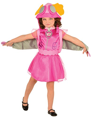 Costume bambino skye cucciolo paw patrol 100% originale taglia s small rubie's carnevale festa