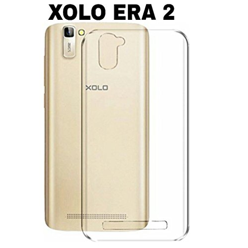 AVICA Silicon Clear Flexible Premium Transparent TPU with Protective Shock Proof Corner for Xolo Era 2 image