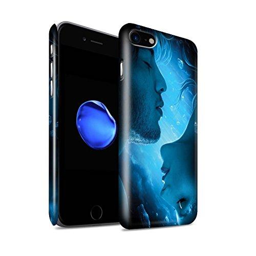 Officiel Elena Dudina Coque / Clipser Brillant Etui pour Apple iPhone 8 / Pack 7pcs Design / Art Amour Collection Diamants congelés