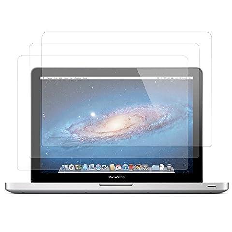 3 films de protection écran haute transparence ultra clairs invisibles anti rayure pour MacBook Air 11.6