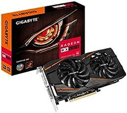 GIGABYTE Radeon RX 580 Gaming 8GB GDDR5 HDMI(Gold Plated) x1 DP(Gold Plated) x3 Dual-Link DVI-D(Thin) x1