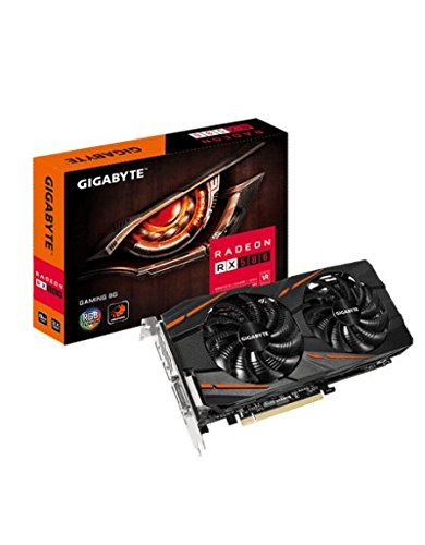 Gigabyte GV-RX580GAMING-8GD - Tarjeta Gráfica, RX 580 Gaming, 8 phases poder,  8GB,...
