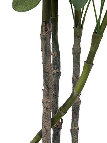 artplants Künstliche Schefflera, getopft, 440 Blätter, 90 cm – Künstliche Zimmerpflanze/Deko Pflanze