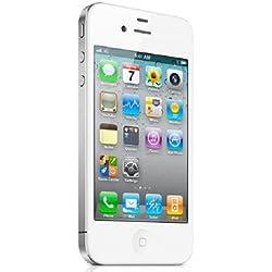 Apple iPhone 4S Blanc 16Go Smartphone Débloqué (Reconditionné)