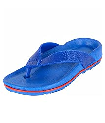Ys Global Boys Blue Rubber Flip Flops 6UK