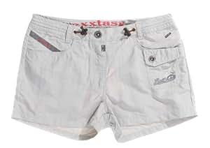 Exxtasy Women's Shorts - Grey, 8cm