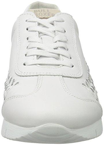 BULLBOXER Damen Sneaker Weiß (White)