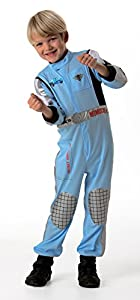 Cars 2 - Disfraz de Piloto Finn McMissile para niño, infantil 5-7 años (Rubie