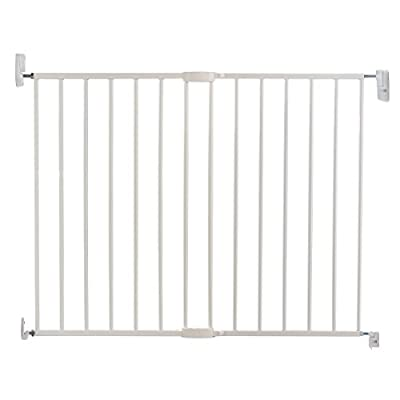 Lindam Wall Fix Extending Metal Safety Gate (Push to Shut/Easy Close)