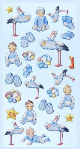 Creapop Sticker Softysticker * Baby Boy I * Geburt - Taufe * Aufkleber -