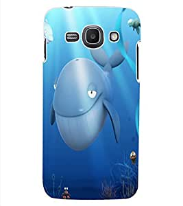 ColourCraft Dolphins Design Back Case Cover for SAMSUNG GALAXY ACE 3 S7272 DUOS
