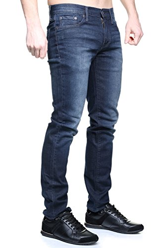 Levis Homme 511 Jeans Slim Fit, Bleu Nightmare