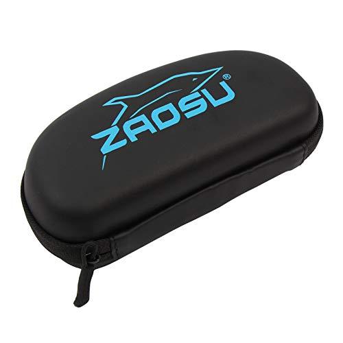 ZAOSU Goggle Case | stabile Schutzhülle für Deine Schwimmbrille, Farbe:blau