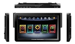 """POWER ACOUSTIK PD - 718NB Multimédia Ecran 7 """"- Ample pour Lecteur DVD avec iPod-Certifié intrants de POWER ACOUSTIK"""