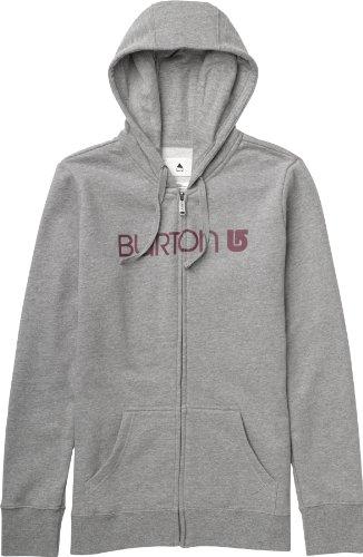 Burton Horizon Sweat à fermeture Éclair pour femme avec logo Multicolore - gris