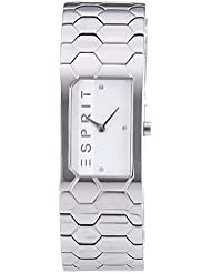 Esprit Damen-Armbanduhr Houston Hexa Analog Quarz Edelstahl ES107882001