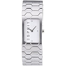 Esprit TP10788 Silver Women's Quartz Watch with Silver Dial Analogue Display and Silver Stainless Steel Bracelet ES107882001