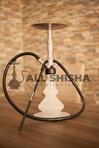 Allshisha Clear INOX 580 BORO Silky Schliff 4S - Version II El Keyif - Kaya Cachimba Hookah