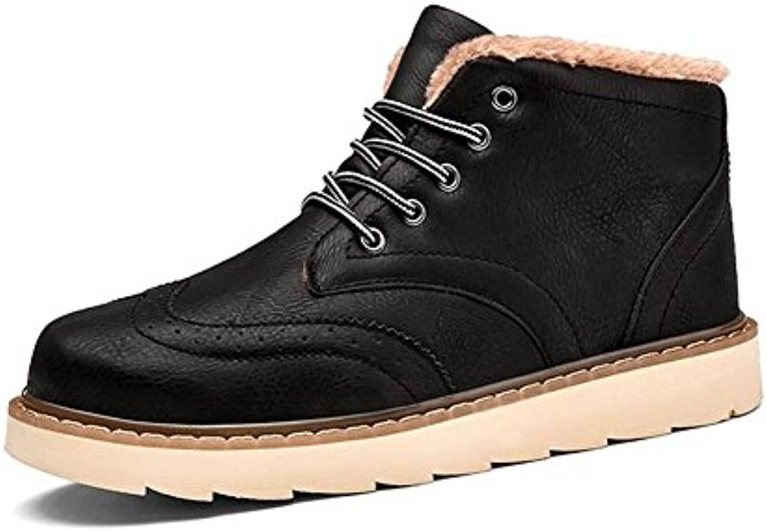 Winter HerrenStiefel und gro?e ModeTrendRetroKlassiker   47   black