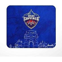 Jbn Delhi Capitals - Designer Mouse Pad | Premium Gaming Mousepad | Anti-Slip Rubber Base | Designer Mouse Pad | Anti Skid Technology Mouse Pad for Laptops and Computers | Pack of 1