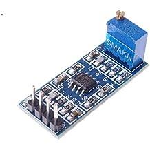 ARCELI LM358 Módulo de amplificación de señal de Ganancia de 100 amplificadores operacionales ...