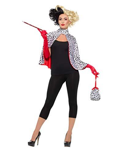 Dalmatiner Kostüm - Smiffys SMIFFY 'S 47314Deluxe Evil Madame