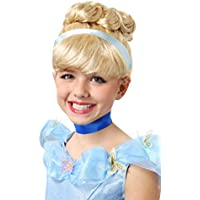 Fun Costumes Girls Cinderella Wig Standard