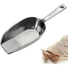 3000 ml Alu Portionierschaufel Kornschaufel Portionierschaufel Eisschaufel Getreide Alu Schaufel Mehlschaufel