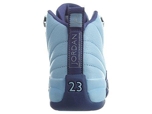 Nike 510815-418, Scarpe da Basket Bambina Blu
