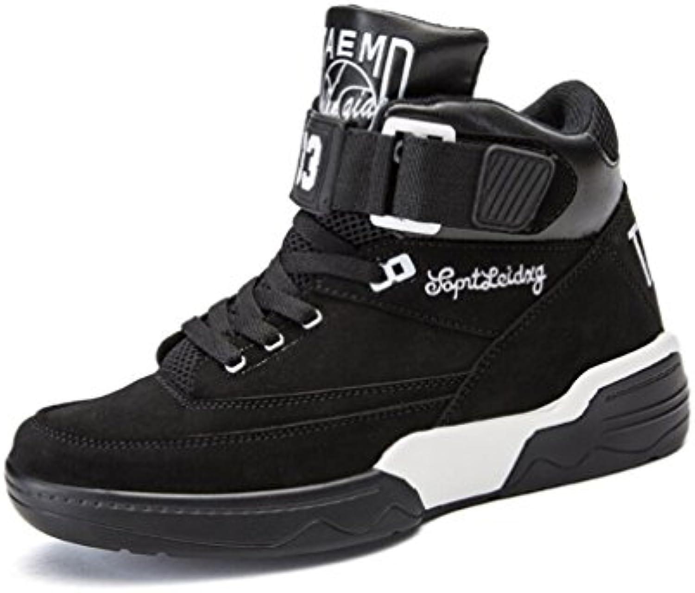 YaXuan Trainer fuumlr Männer  Jugend Laufschuhe  Turnhallen Sport Turnschuhe  Basketball Schuhe  Koreanische Art