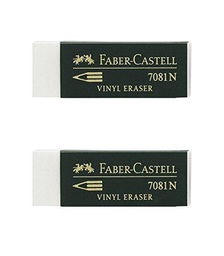 Faber-Castell – Blister 2 gomas de borrar Goldfaber blanco