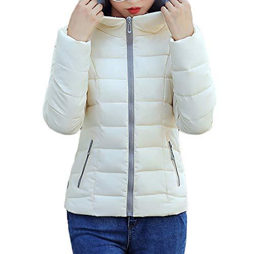 TOPKEAL Jacke Mantel Damen Herbst Winter Sweatshirt Steppjacke Kapuzenjacke Warmer Fester Hoodie mit Kapuze Pullover Dicke warme dünn Outwear Coats Tops Mode 2018
