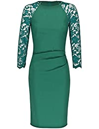 JU FASHION Etuikleid GIORGIA, emerald