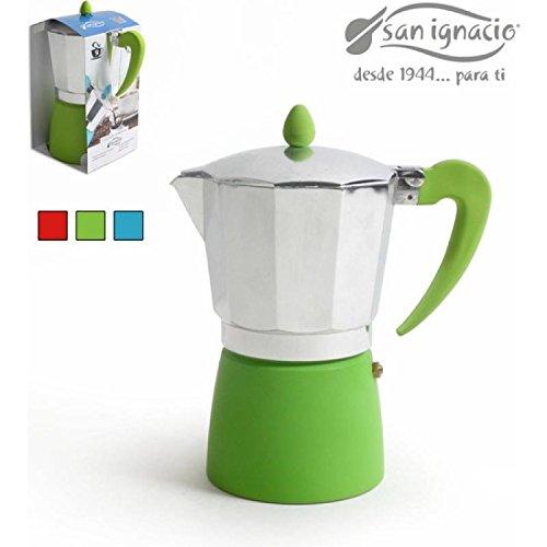 San Ignacio Cafetera 9T Soft Touch Splash Verde