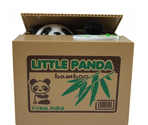 Novedad–Regalo creativo, voz robar moneda gato/Panda/Cerdo Piggy Banco/banco de monedas caja/Dinero Para Funny lovely regalo