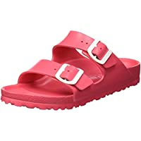 Birkenstock Classic Arizona Eva Women's Fashion Sandals, Pink (Coral 1013092), 37 EU