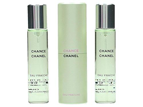 Chance Eau Fraiche Eau de Toilette 3 x 20 ml Spray Donna da borsetta