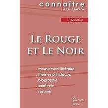 Fiche de Lecture Le Rouge et le noir de Stendhal (Analyse littéraire de référence et résumé complet)