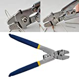 JimTw-DE WXS-255 Zange Drahtseil Zum Crimpen Angelschnüre Kabel Werkzeug Clamp Crimper Zangen Handwerkzeuge