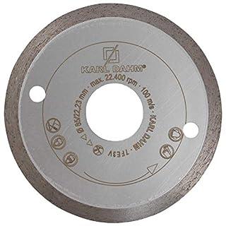 Karl Dahm Profi Diamant Trennscheibe 125 mm Fliese/Feinsteinzeug 50096-125 x 22,23 mm