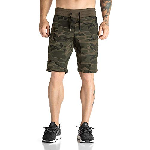 Delhitraderss Men's Camouflage/Military Printed Cotton Shorts(Free-L,XL)