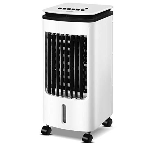 Climatiseurs évaporatifs d'intérieur portables noir et blanc - Ventilateur et humidificateur, Télécommande, Refroidisseur d'air 3 en 1 pour les dortoirs de bureaux à domicile, Réservoir d'eau 5L