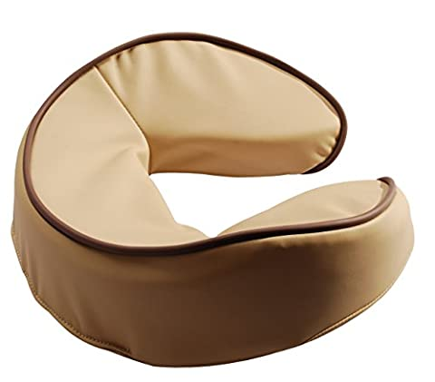 Mt Massage LeafTalk Universal Face Cushion/Face Pillow for Massage Table-Beige by Mt Massage Tables
