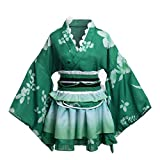 GRACEART Japon Peignoirs Robes Pyjamas Set (Vert)