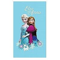 Disney Frozen - Children Beach Towel Printed Magic 100% Cotton - Size: 70x120 cm