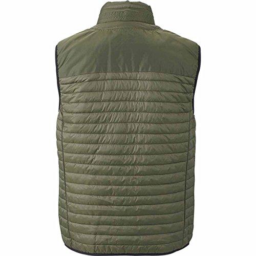 JAMES & NICHOLSON - veste légère sans manches - bodywarmer - gilet - JN1110 - Homme vert olive