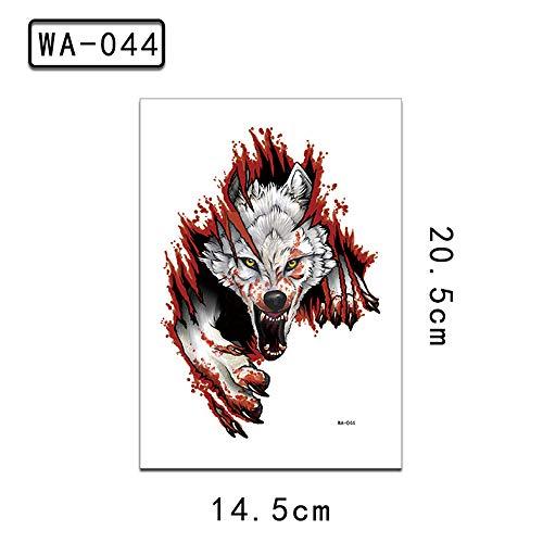 zgmtj Etiqueta de Tatuaje de Brazo de Flor Animal Pintado WA-044...
